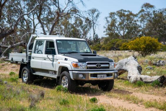 Zero Emissions Drive battery electric 4x4 light vehicle